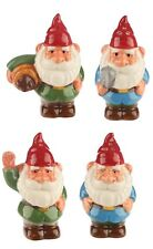 Garden Gnome Salt and Pepper sets, 2 designs !FREE UK P&P!