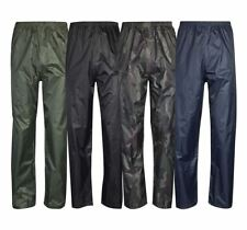 Adult Waterproof Rainwear over Trouser Unisex Work Sports Wear Rainwear Pants