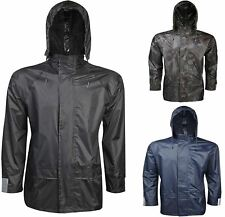 Adult Rainwear Waterproof Hooded Jacket Unisex Work Sports Wear Rainwear Coats