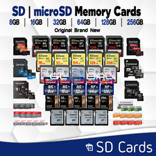 Sandisk SD Card 8/16/32/64/128 GB Micro SD Memory For Nikon Canon lot All Sizes