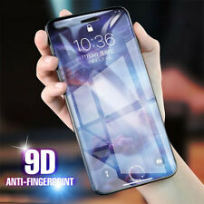 9D 9H Tempered Glass Screen Protector Film Full Cover Para iPhone X 7 8 6 Plus
