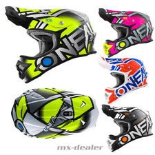 O'NEAL 3Series RADIUM OPACO GIALLO NEON CASCO DA CROSS MX motocross XS S M L XL
