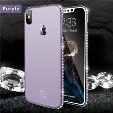 Bling Diamond Phone Case For iPhone X 8 7 6s Plus 5s SE TPU Case Cover