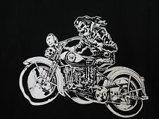 The Rider T Shirt Detroit Ghetto Rags Biker Goth Rock Punk + FREE ITEMS
