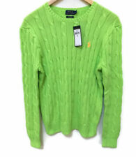 POLO RALPH LAUREN Women's Sport Cable-Knit Cotton Sweater MSRP $98.5 NWT