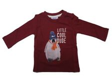 Mexx a maniche lunghe Bambino BABY SHIRT IMPERATORE Red Melange tg. 56 62 68