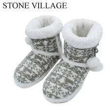 2018 New Knit Wool Soft Warm Winter Plush Slippers Soft Mute Home Slippers Cute
