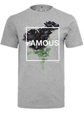 T-Shirt Famous Stars and Straps Life and Death Heather Grigio