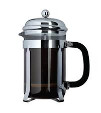 Grunwerg Cafe Ole by 3-Cup Classic Coffee Maker Glass Cafetiere, Chrome...