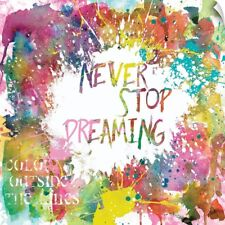 Wall Decal entitled Never Stop Dreaming
