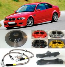 BMW M3 E46 NÜR BIG BRAKE KIT 4-POT CALIPER 330mm 2-PIECE DISCS SLOTTED FLOATING