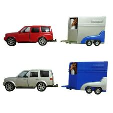 Teamsterz Toy 4 x 4 Car & Horse box With Horse With Red OR Silver toy car NEW