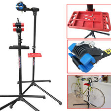 Mechanic Home Bicycle Bike Cycle Repair Stand Holder Workstand Rack & Wall Hook