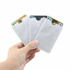 RFID Blocking Credit / Debit Card Protector Sleeve Contactless Anti Fraud