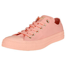 Converse Chuck Taylor All Star Ox Womens Coral Canvas Trainers