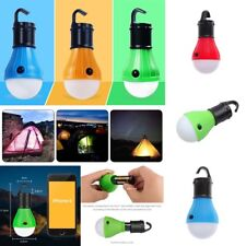 3 LED Bulb Light Outdoor Emergency Camping Tent Portable Hanging Lantern Lamp