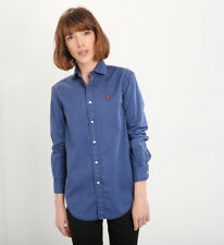 Camicia Donna POLO RALPH LAUREN mod. Relaxed Fit PE18  col. Blu Navy