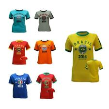 Top Unisex Printed Various Country Football Soccer T-Shirts