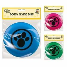DOGGY FLYING DISC !! 21cm !! Pet/Puppies Catch/Throw/Fetch/Frisbee Dog Fun Toy