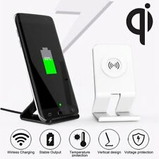 Qi Wireless Charger Charging Stand Dock Cooling Fan For Apple iPhone 8/8 Plus/ X