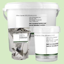 Sodium Sulphate 98% Anhydrous ACS 100g to 2.5Kg