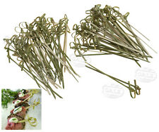 DT 50-100X Bamboo Knot Skewer Cocktail Stick Ideal Canape Buffet Party Tableware