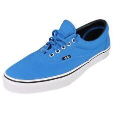 Vans Off The Wall Era MLX Unisex Casual Lace Up Canvas Trainers Blue/White
