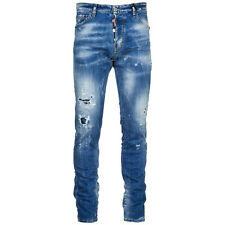 DSQUARED2 JEANS UOMO NUOVO COOL GUY BLU A53