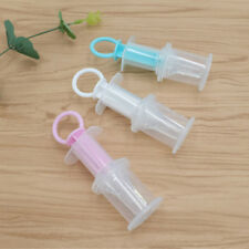 Baby Squeeze Medicine Dropper Dispenser Infant Pacifier Feeder Feeding SyrinRA