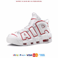 ALL SIZES NIKE AIR MORE UPTEMPO '96 WHITE / UNIVERSITY RED