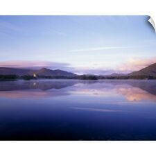 Wall Decal entitled Killarney, Co Kerry, Ireland, Ross Castle And Muckross Lake