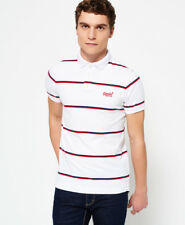 Superdry Hombre Polo a rayas Echo Beach YD Optic