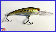 NEW Fishing Lure Hard Minnow Crankbait Hard Swimbait BASS CRAPPIE
