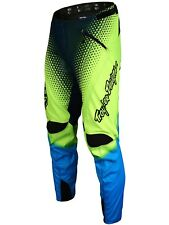 Pantaloni MTB Troy Lee Designs Sprint Starburst Fluorescent Giallo