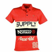 Polo homme manches courtes Geographical Norway Karchie rouge
