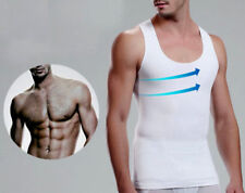 c096368bec Mens Compression Vest Shirt Underwear for Man Boobs Gynecomastia Chest  Shaper UK