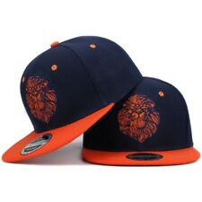 High Quality Lion Face Embroidery Snapback Cap Cool King Hip Hop Hat For Boys