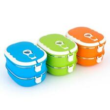 Stainless Steel Thermal 1 & 2 Layer Tiffin Lunch Box Vacuum Seal Food Container