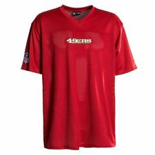 New Era NFL San Francisco 49ers T-shirt rouge coupe ample F O R maille Pull-over