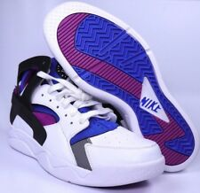 Nike Air Flight Huarache PRM QS Mens White Basketball Shoes Size 10.5 686203-100
