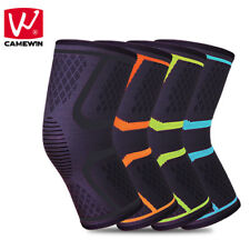 CAMEWIN 2 PCS Knee Protector Sports Running Riding Basketball Knee Pads for Men