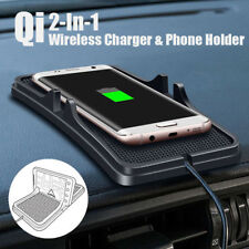 Wireless Mat For Samsung Charging Universal Holder Pad Non-slip Car Qi Charger