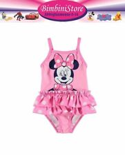 Costume mare piscina neonata minnie disney originale 0 3 6 9 12 18 24 mesi
