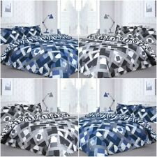 INFUSION GEO STRIPES GEOMETRIC DUVET COVERS QUILT COVER PILLOWCASES BEDDING SETS