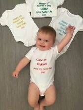 Baby vest babygrow bodysuit personalised lots of colours fast delivery