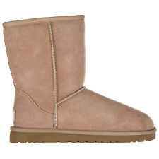 UGG WOMEN'S SUEDE ANKLE BOOTS BOOTIES NEW W CLASSIC SHORT PINK 6E7