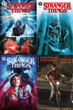 STRANGER THINGS #1 - VARIANTS 4 BOOKS SET - NETFLIX