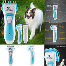 Electric Animal Pet Dog Clipper Kit Hair Grooming Trimmer Cordless Shaver Razor