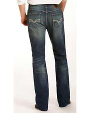 Rock and Roll Cowboy Men's Zig Zag Embroidered Jeans - Boot Cut  - M0D4415