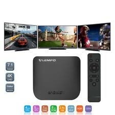 Mini Smart TV Box Android 7.1 Octa Core 1GB 8GB 4K 2.4G WIFI OTA 2018
